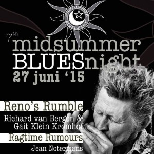 affiche midsummer blues festival